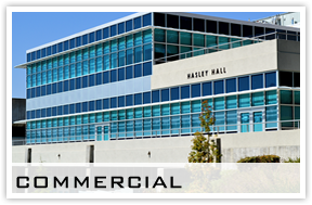 commercial building glass